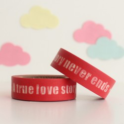 Washi tape true love story