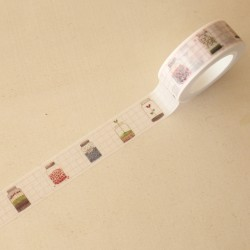 Washi tape tarritos