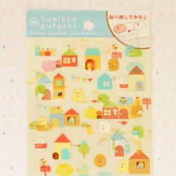 Stickers Sumikko Gurashi casitas