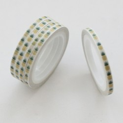 Washi tape slim piñas