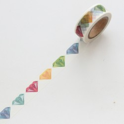 Washi tape diamantes