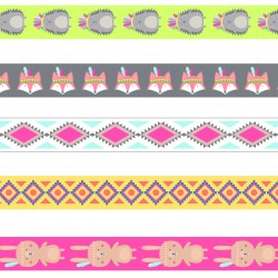 Pack 5 washi tapes Artemio Totem