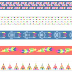 Pack 5 washi tapes Artemio Atrapasueños