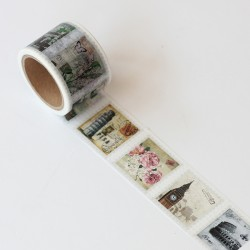 Washi tape precortado sellos