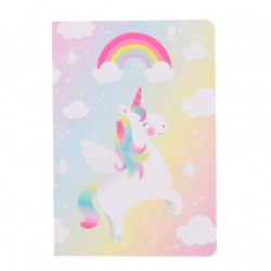 Mini libreta Unicornios arcoiris
