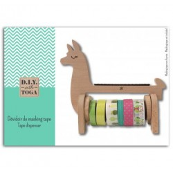 Dispensador washi tape Llama