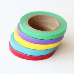 Pack 5 washi tapes slim