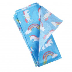 10 hojas de papel de seda Magical unicorn