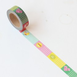 Washi tape Etiquetas de colores
