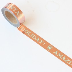 Washi tape foil rosa Fantastic