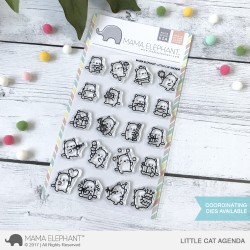 Sellos Little cat agenda Mama Elephant