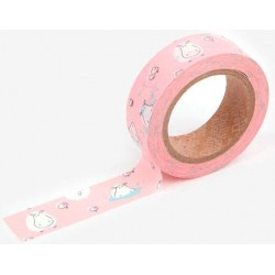 Washi Tape Hippo Dailylike