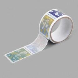 Washi tape precortado sellos Sea Dailylike