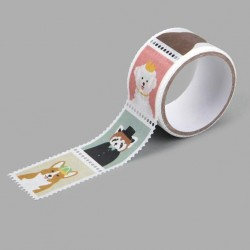 Washi tape precortado sellos Animal Dailylike