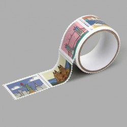 Washi tape precortado sellos Landmark Dailylike
