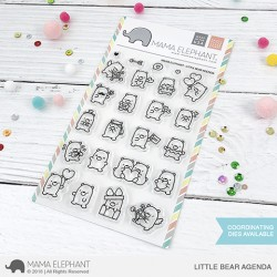 Sellos Little bear agenda Mama Elephant