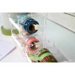 Dispensador de washi tapes transparente