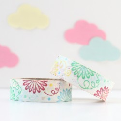 Washi tape fiesta multicolor