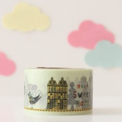 Washi tape Home sweet home